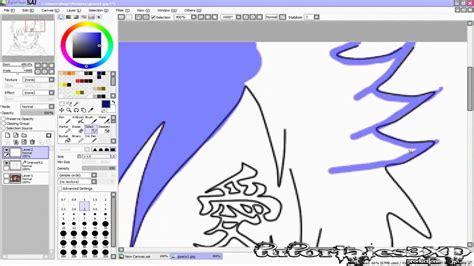 tutorial como dibujar en paint tool sai como usar y dibujar en paint tool sai