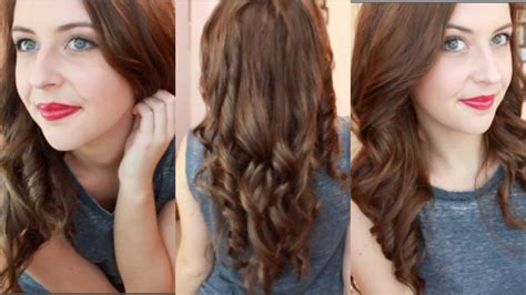 hairbrush to create curls on medoum lengyh hair how to curl your hair with a straightener