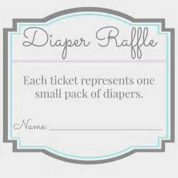search results for free diaper raffle printables
