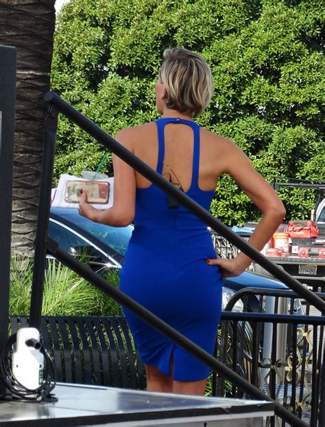 Charissa Set charissa thompson on the set of in universal city 10 08 2015 hawtcelebs