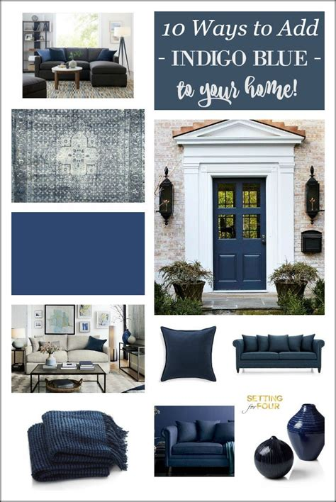 home decor paint trends indigo blue 10 amazing ways to add this color to your