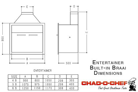 gas fireplace dimensions