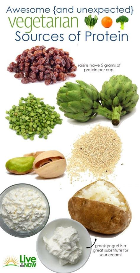 vegetables protein amount 8 vegetarian friendly foods that are surprisingly high in