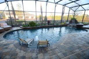 enclosed pool designs 20 low maintenance landscaping ideas for enclosed pool