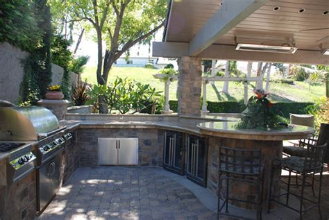 Outdoor Kitchen And Bar by 37 Outdoor Kitchen Ideas Designs Picture Gallery
