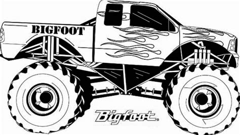 Free Home Decor Ideas by Elegant Monster Truck Coloring Pages Printable 29 For Your