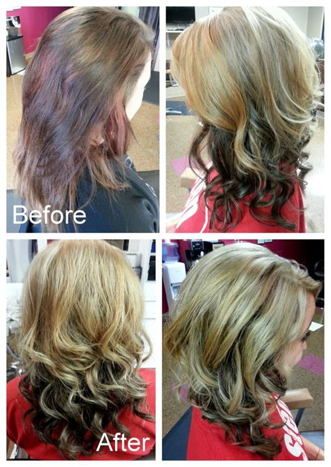 how to darken hair underneath blonde on top and dark brown underneath all kinds of