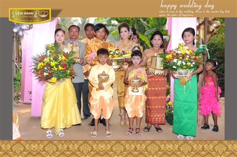 Cambodian wedding ceremony and reception stunning traditional