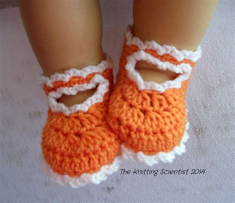 crochet shoes baby summer free pattern the knitting scientist