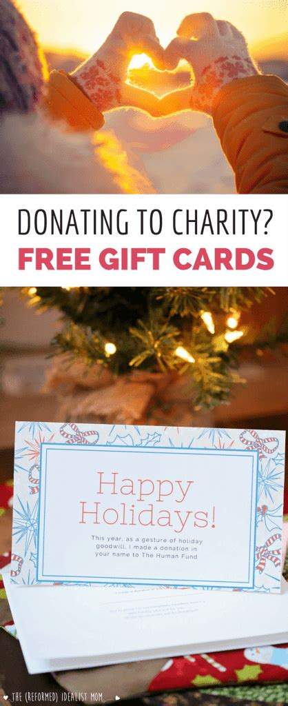 how to donate a christmas gift to a kid donating to charity as a gift 3 free cards to go with your gift
