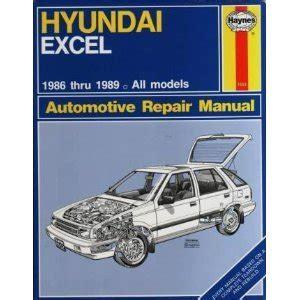 haynes car repair manual book hyundai excel all models 1986 1994 43015 1552 for sale american label services on amazon com marketplace sellerratings com