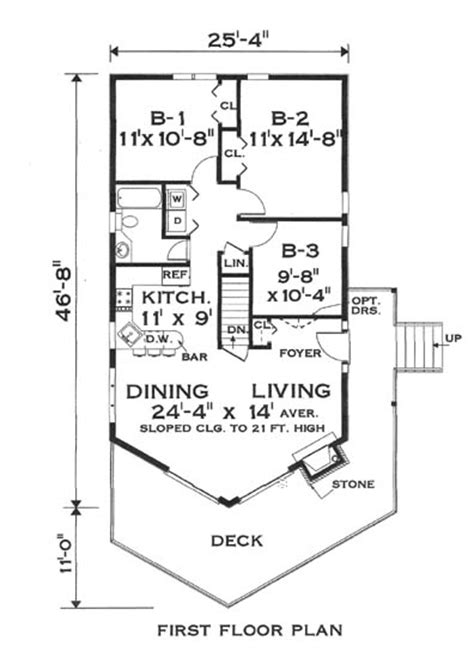 chalet style floor plans great chalet 5797 3 bedrooms and 1 5 baths the house designers