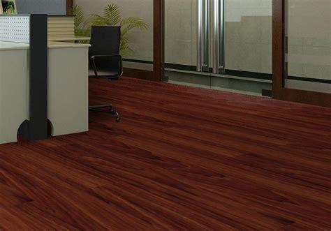 wood looking surface pvc vinyl flooring interlocking click tiles waterproof