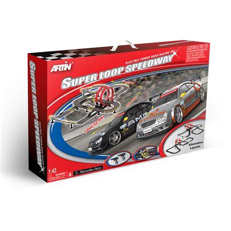 artin  scale super loop speedway slot car racing set walmartcom walmartcom