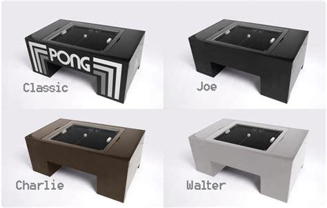 pong tables atari pong coffee table the awesomer