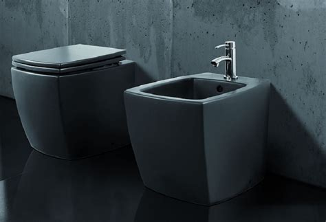 2 In 1 Toilet And Bidet by Square Toilets And Bidets
