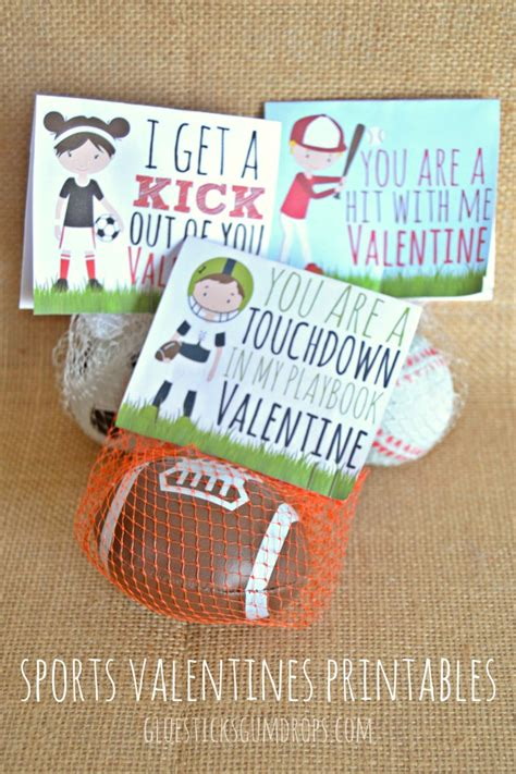 free ideas for valentines day sports valentines printables free ideas