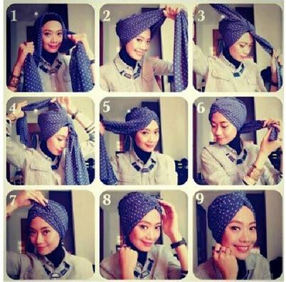 tutorial berhijab formal inspirasi tutorial hijab ethnic formal look 2016