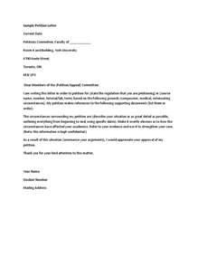 Extenuating Circumstances sample petition letter docx