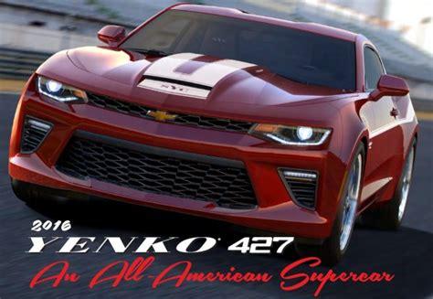 Yenko Camaro 2016 by Meet The 700hp 2016 Yenko 427 Camaro Torque News