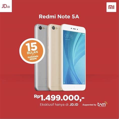Hp Xiaomi Note Di Indonesia by Xiaomi Redmi Note 5a Lands In Indonesia Sells For 111