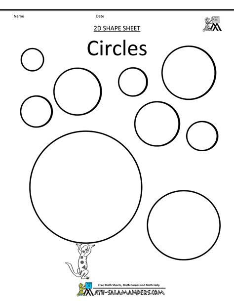 circle coloring pages preschool pinterest the world s catalog of ideas