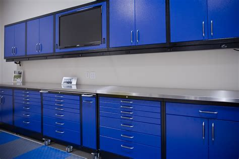 Garage Cabinets by Metal Garage Storage Cabinets Decofurnish