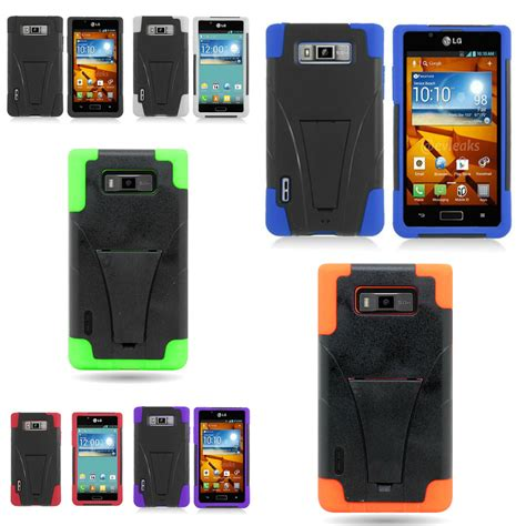 rugged brand phone cases brand new rugged soft hybrid phone cover for lg splendor venice ebay