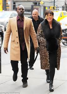 kris who turned 60 that day is set to celebrate her birthday on kim kardashian nips out in a cruella de vil inspired fur