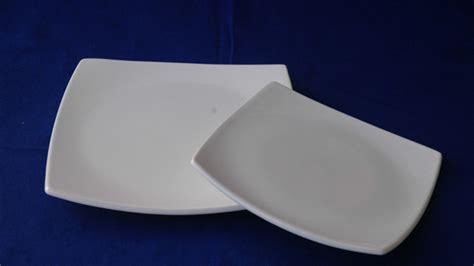 platos cuadrados de porcelana qu 233 no se te rompan los platos cuadrados la porcelana