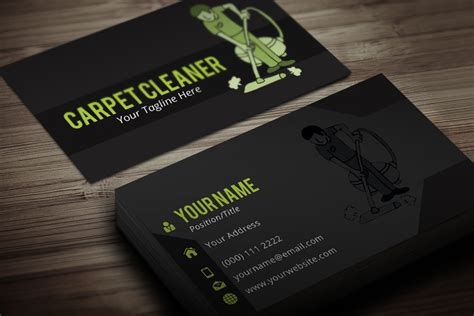 6 best photos of carpet cleaning postcard templates