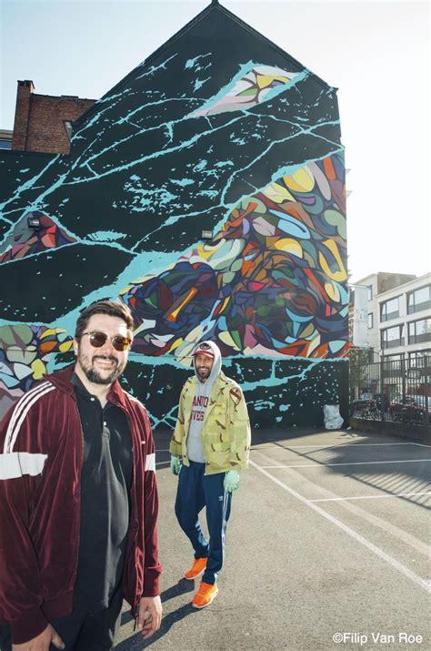 zenith matthias schoenaerts realiseert nieuwe graffiti