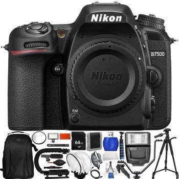 nikon d7500 dslr only with accessory bundle