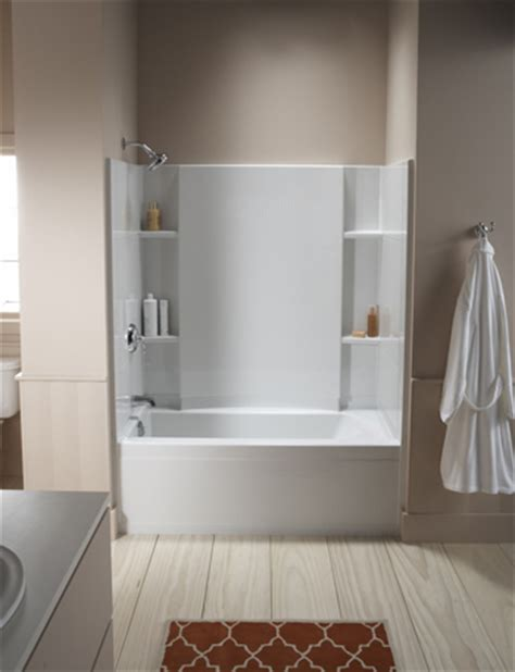 sterling bath shower 48 inch bathtub shower combo roselawnlutheran