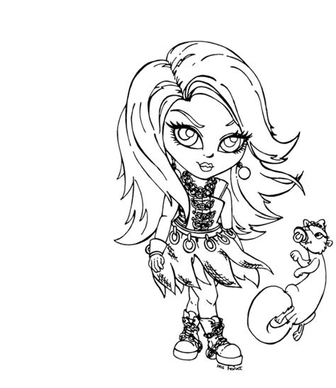 monster high coloring pages all characters az coloring pages