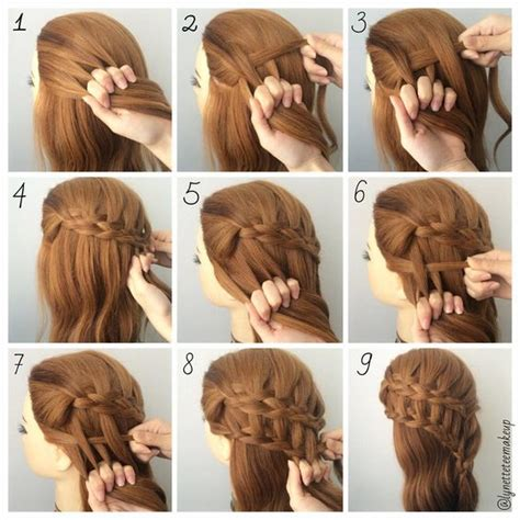 cool braids steps have you figure out how to do this four strand ladder