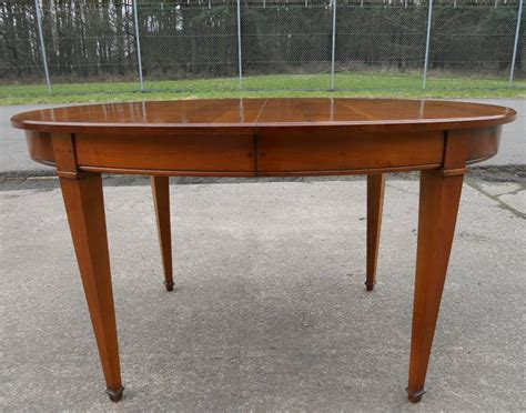 ten seat dining table oval walnut extending dining table to seat ten sold