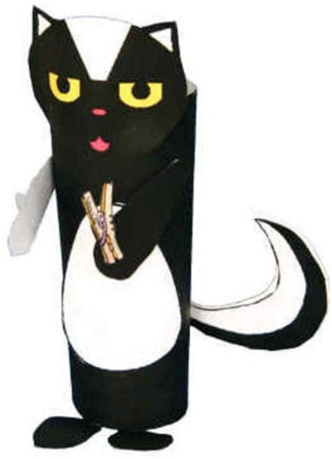 dltk toilet paper roll crafts skunk cardboard craft
