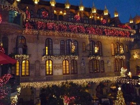 the mission inn hotel spa festival of lights lights in spanish patio picture of the mission inn hotel