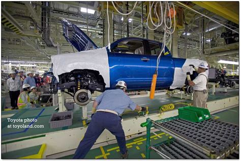 toyota manufacturing process toyota plant for tundra