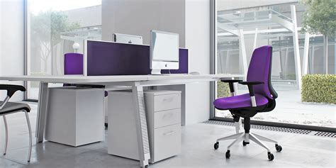 Chair Office Furniture Design Ideas Captivating Modern Office Chair With Soft Purple Fabric Mixed With White Desk With Border