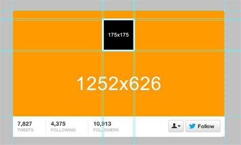 estas son las medidas del nuevo header de twitter