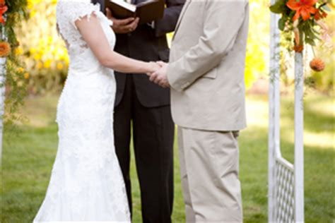 can you officiate your own wedding a bbq wedding reception