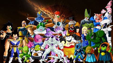 dragon ball z villains wallpaper dbz villains by zantutzuken on deviantart