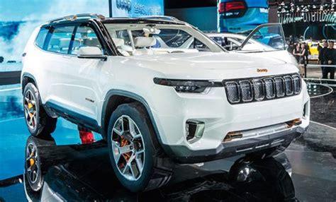 Jeep Hybrid Suv Jeep Unwraps Its Yuntu Hybrid Suv Concept Leisure Wheels