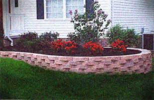 brick wall landscaping ideas