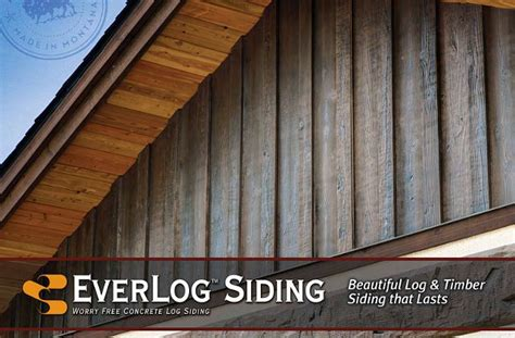 Rustic Floor Plans by Everlog Concrete Log Siding By Everlog Systems