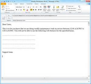 Outlook 2013 Template by How To Create Email Templates In Microsoft Outlook