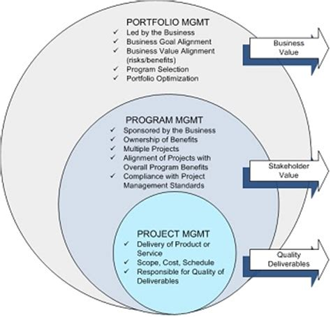 Example Of Management Resume by The Rings Of Project Program And Portfolio Management