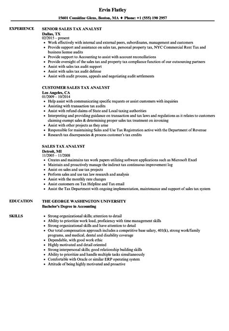 sle sales tax accountant resume unit clerk cover letter